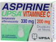 Aspirine upsa vitaminee c tamponnee effervescente, comprimé effervescent